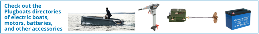 photos of electric boats, motors and accessories